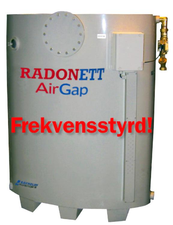 AirGap 1000/6 återströmningsskydd, brutet vatten, SS-EN 1717, airgap